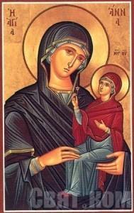 ikona sv. Anna