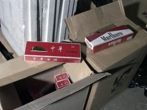 полиция контрабанда цигари