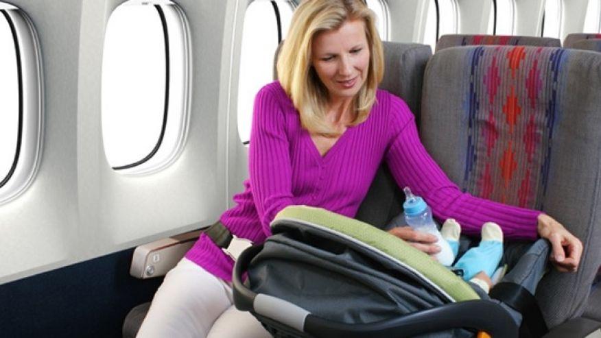 полет с бебето