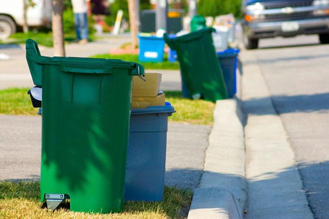 Изхвърляне на боклуци от дома